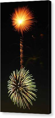 Sunburst Canvas Print by Optical Playground By MP Ray