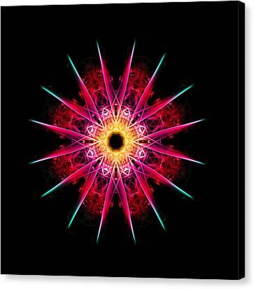 Sunburst Canvas Print by Steve Purnell