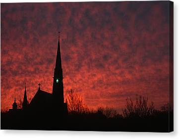 Sunday Dawn Canvas Print by Andrew Soundarajan