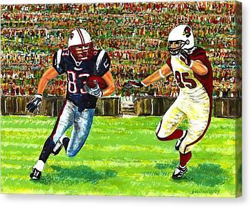 Sunday Football  Canvas Print by Mario Perez