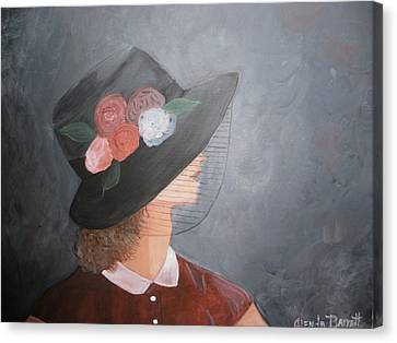 Sunday Hat Canvas Print by Glenda Barrett