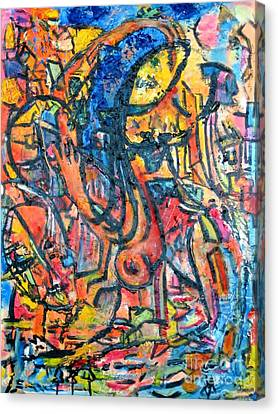 Sunder Canvas Print by Chaline Ouellet