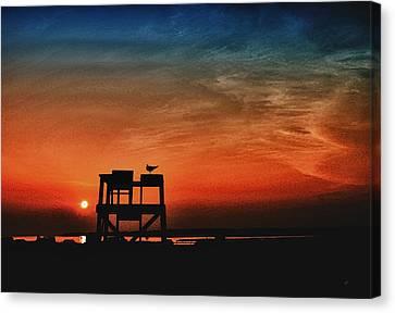 Sundown Canvas Print by Gerlinde Keating - Galleria GK Keating Associates Inc