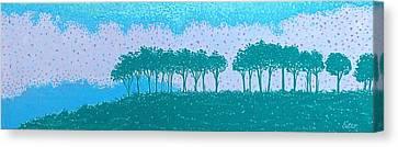 Sundown Canvas Print by Lisa Bates