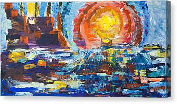 Sundown Canvas Print by May Ling Yong