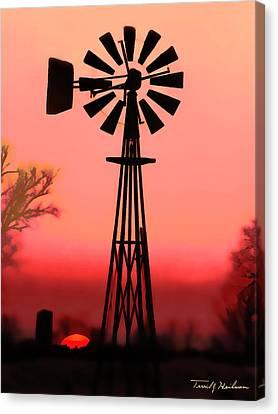 Sundown  Canvas Print by Terril Heilman