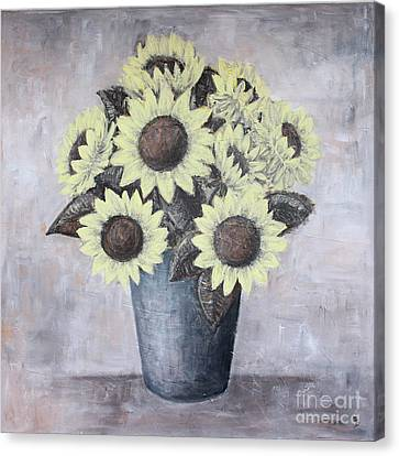 Sunflowers Canvas Print by Home Art