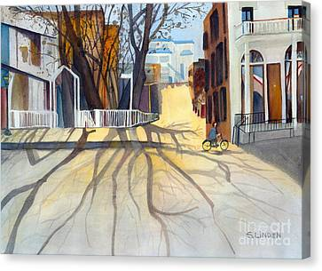 Sunny December Afternoon Canvas Print by Sandy Linden