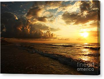 Sunrise - Rich Beauty Canvas Print by Wayne Moran