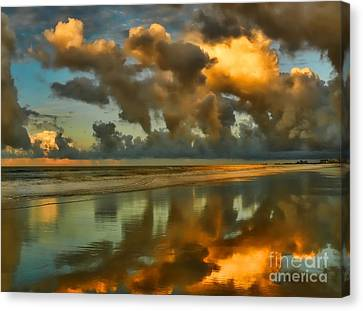 Sunrise At Myrtle Beach II Canvas Print by Jeff Breiman