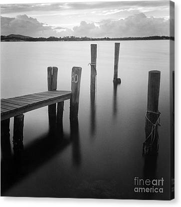 Sunrise At Tuncurry New South Wales Canvas Print by Colin and Linda McKie