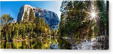 Sunrise At Yosemite Canvas Print by Az Jackson