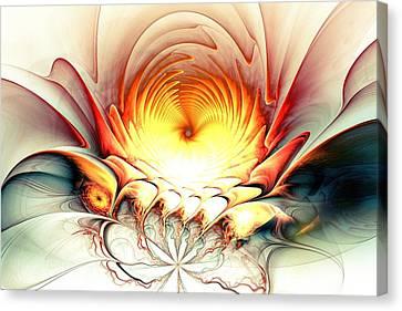 Sunrise In Neverland Canvas Print by Anastasiya Malakhova
