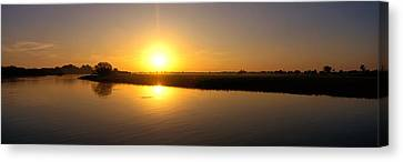 Sunrise Kakadu National Park Northern Canvas Print by Panoramic Images