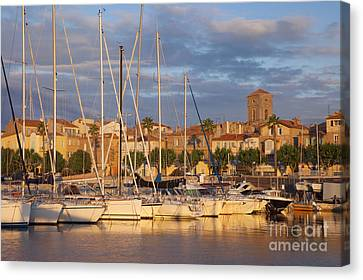 Sunrise Over La Ciotat France Canvas Print by Brian Jannsen