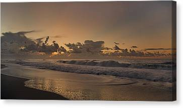 Sunrise Paradise Canvas Print by Betsy C Knapp