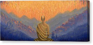 Sunrise Canvas Print by Vrindavan Das