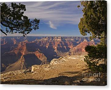 Sunset At Hopi Point Canvas Print by Alex Cassels