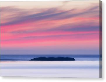 Sunset Bay Pastels II Canvas Print by Mark Kiver
