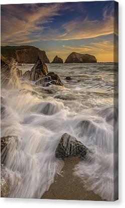 Sunset Churning Canvas Print by Rick Berk