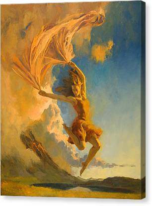 Sunset Dance Canvas Print by Francois Girard