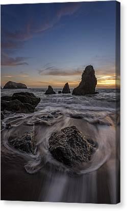 Sunset Goodbye Canvas Print by Rick Berk