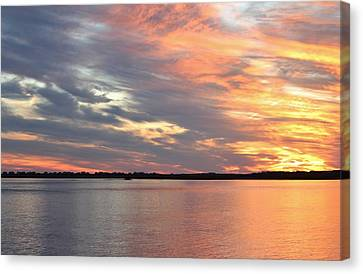 Sunset Magic Canvas Print by Cynthia Guinn