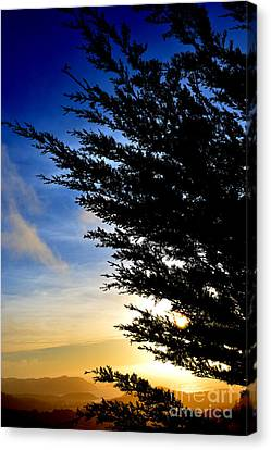 Sunset Overlooking Pacifica Ca Iv Canvas Print by Jim Fitzpatrick