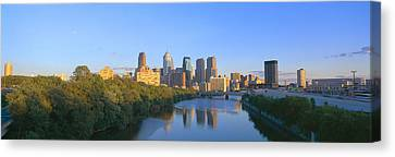 Sunset, Philadelphia, Pennsylvania Canvas Print by Panoramic Images