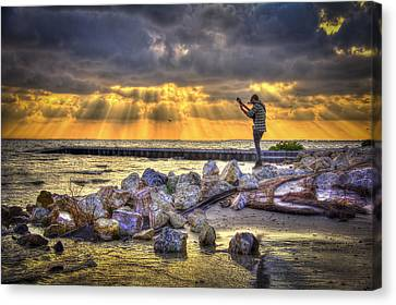 Sunset Serenade  Canvas Print by Marvin Spates