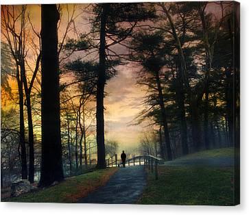 Sunset Solitude Canvas Print by Jessica Jenney