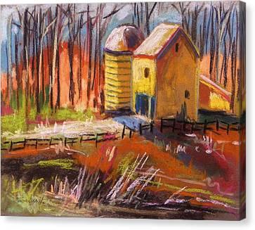 Sunshine Farm Canvas Print by John Williams