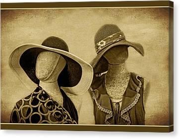 Suntan Canvas Print by Nikolyn McDonald