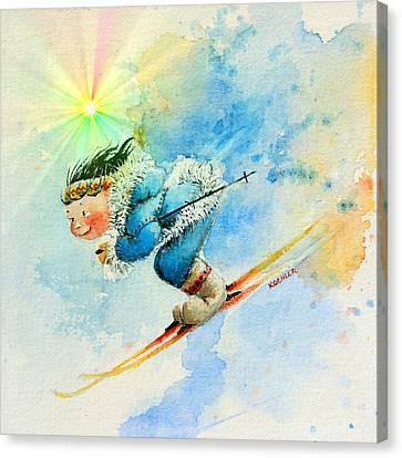 Superg Speed Canvas Print by Hanne Lore Koehler