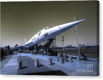 Supersonic  Canvas Print by Rob Hawkins