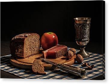 Supper Canvas Print by Joe Boehmer