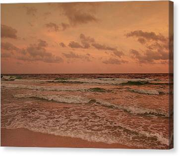 Surf - Florida Canvas Print by Sandy Keeton