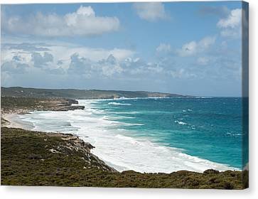 Surf On The Beach, Southern Ocean Canvas Print by Panoramic Images