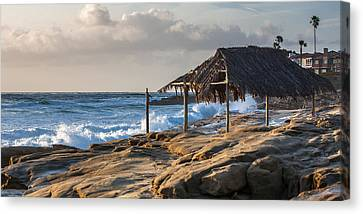 Surf's Up Canvas Print by Peter Tellone
