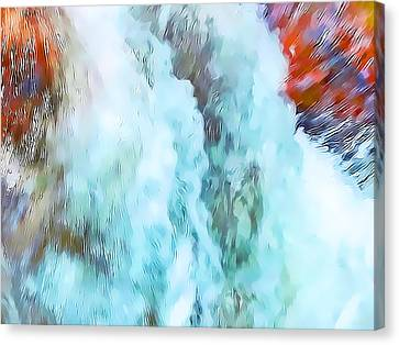 Surge Of Life Canvas Print by Terril Heilman