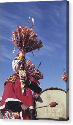 Suri Sicuri Musician Bolivia Canvas Print by James Brunker