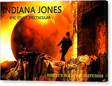 Surprise Indy Canvas Print by David Lee Thompson