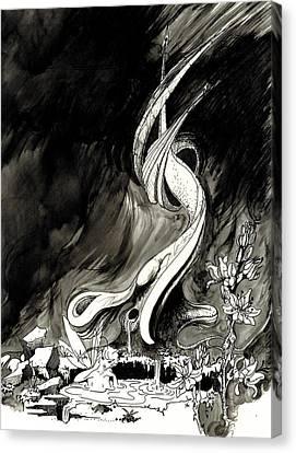 Surprise Canvas Print by Julio Lopez