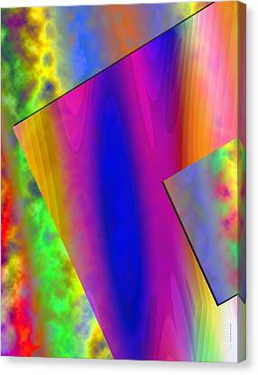 Surreal Geometry Canvas Print by Mario Perez