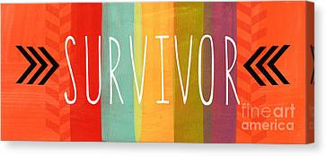 Survivor Canvas Print by Linda Woods