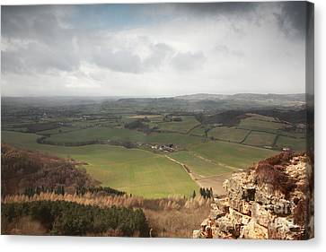 Sutton Bank View Canvas Print by Deborah Benbrook