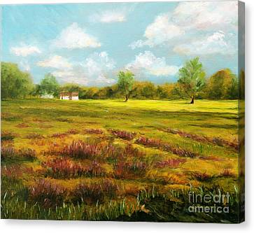 Sutton Road Farm Canvas Print by Cindy Roesinger