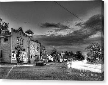 Sutton's Bay In Black And White Canvas Print by Twenty Two North Photography