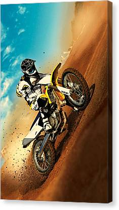 Suzuki Hill Climb Canvas Print by Movie Poster Prints