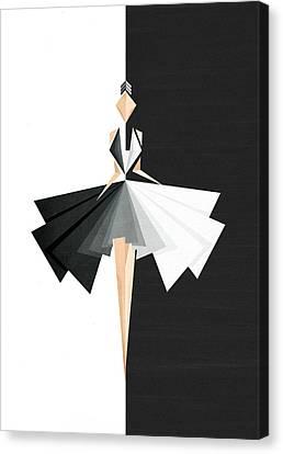Swan Lake Canvas Print by VessDSign